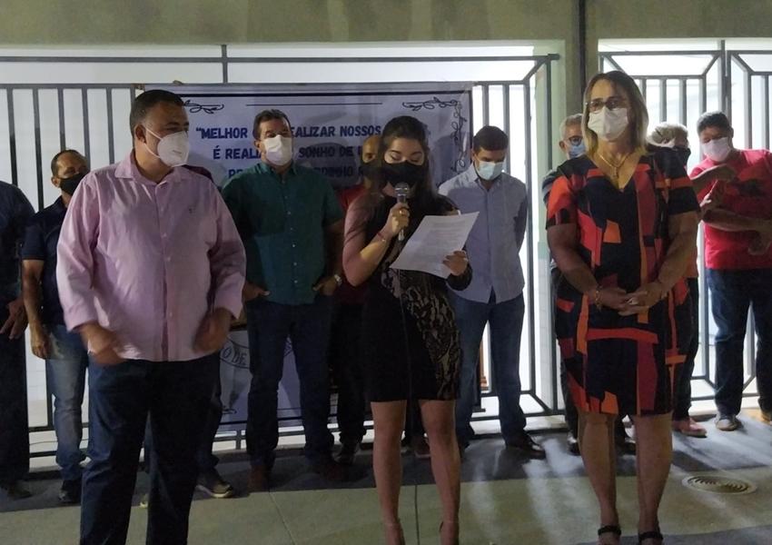 Prefeitura entrega nova Unidade Escolar em São Timóteo
