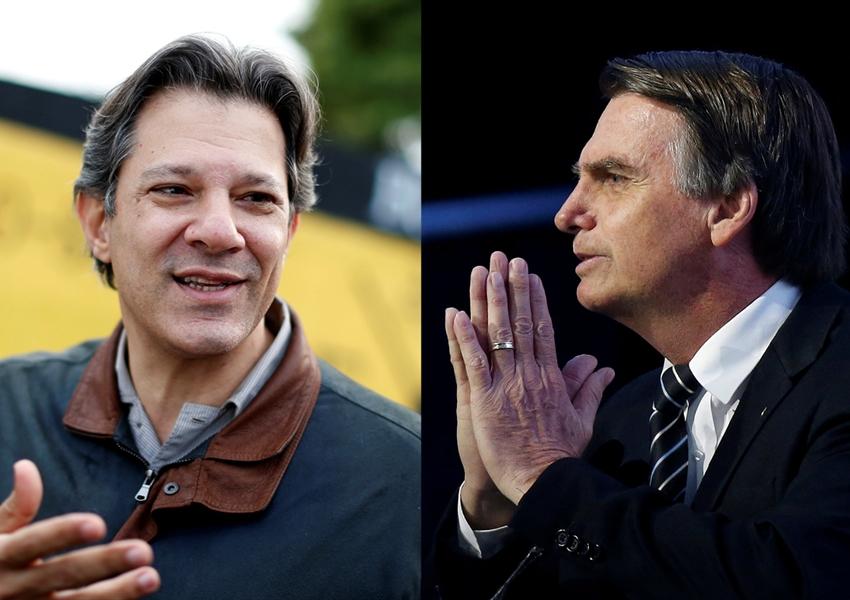 Bolsonaro e Haddad vão disputar o 2º turno pela Presidência