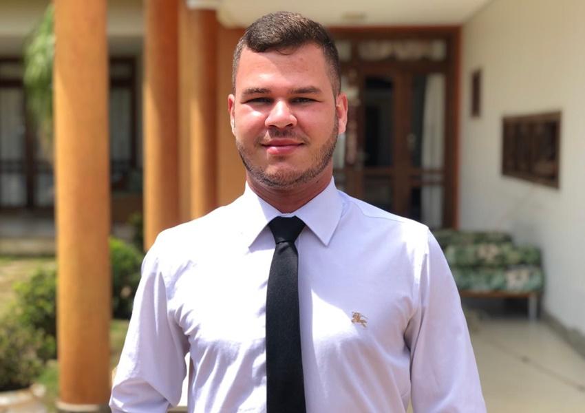 Livramento: Paulo Lessa Filho (REDE), foi diplomado para o seu primeiro mandato como vereador