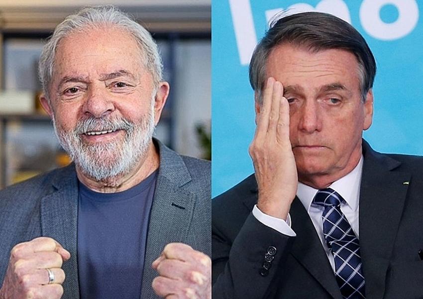 Ipec: Lula lidera intenções de voto à Presidência com mais de 20 pontos à frente de Bolsonaro