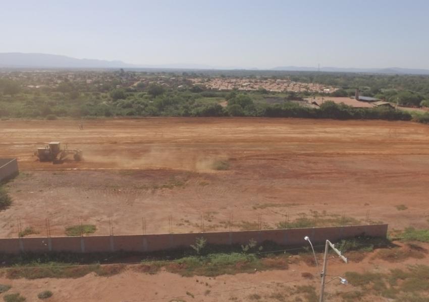 Prefeitura de Livramento inicia obras para construção de novo cemitério