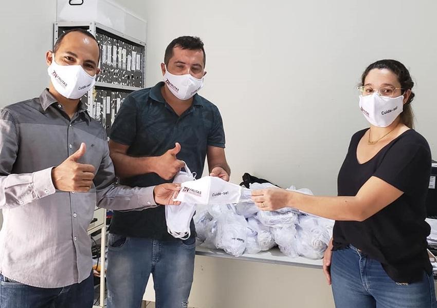Dom Basílio: Vereador realiza doação de 500 máscaras em tecido para Secretaria de Saúde