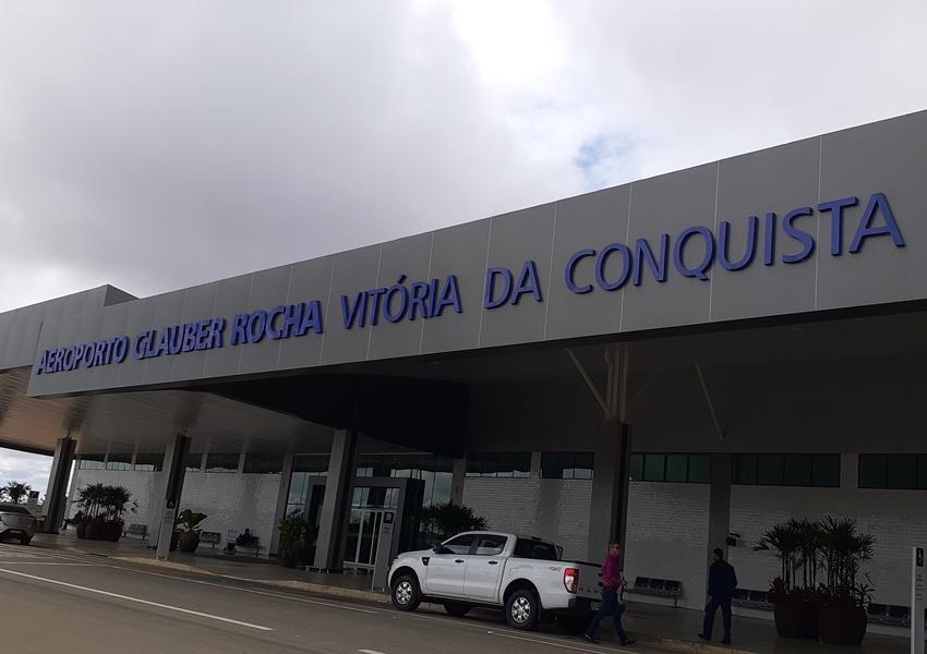 Conquista: Aeroporto Glauber Rocha registra aumento de 80% na movimentação de passageiros