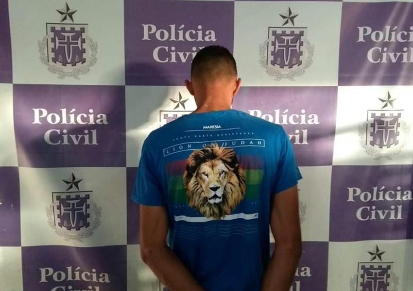 Brumado: Polícia Civil prende suspeito de prática de homicídio.
