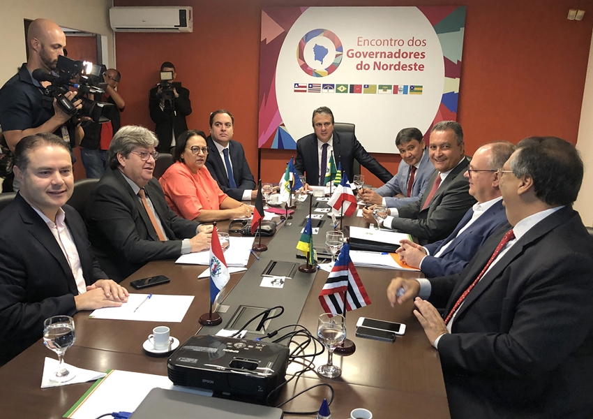 Governadores do Nordeste se reúnem nesta quarta (21) no Piauí
