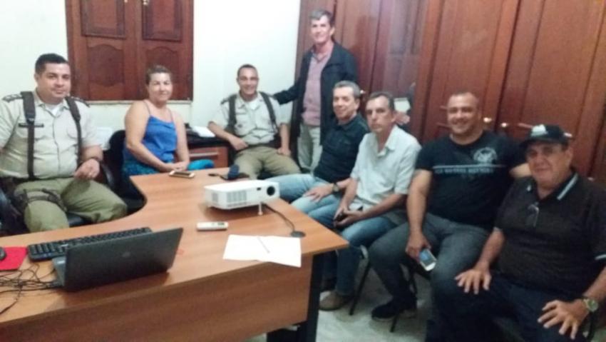 Comandante da 46 CIPM realiza primeira reunião com o CONSEP de Livramento