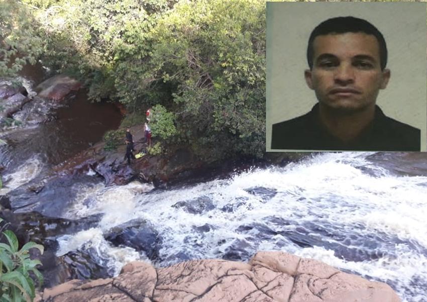 Rio de Contas: Bombeiros localizam corpo de homem desaparecido na Cachoeira do Fraga