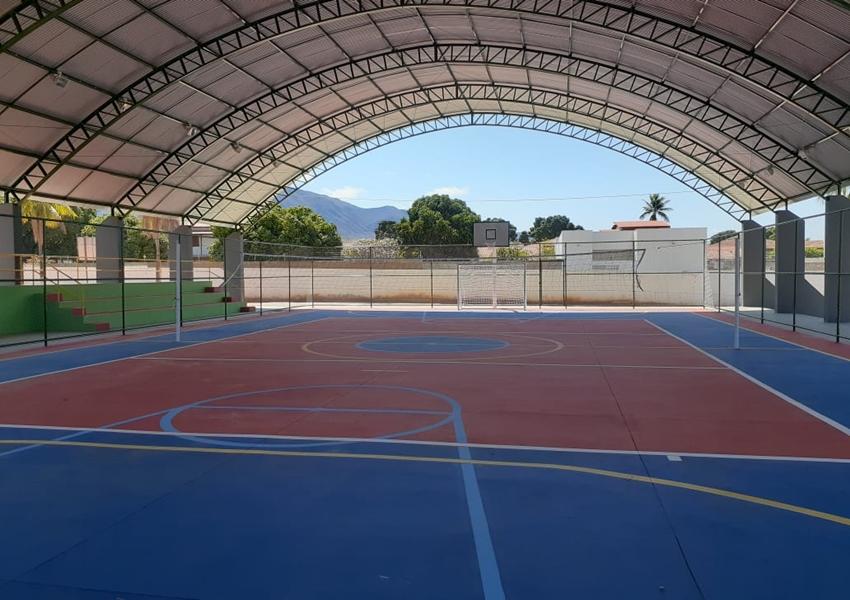 Livramento: Quadra poliesportiva coberta da Escola Polivalente será inaugurada nesta sexta-feira (04)