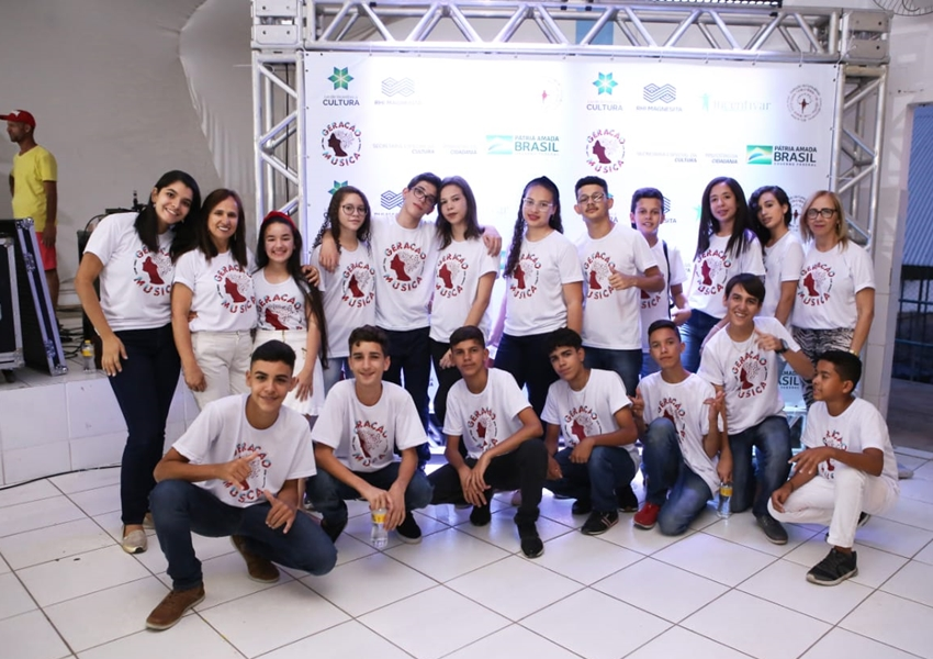 Projeto Geração Música beneficia estudantes da rede pública de Brumado