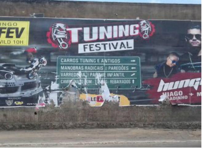 Após desobedecer notificação de poluição visual, Tuning Festival é cancelado