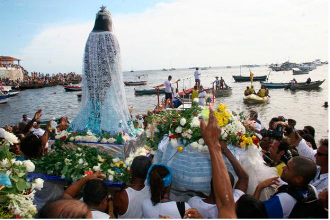 Três são presos durante festa de Iemanjá no Rio Vermelho