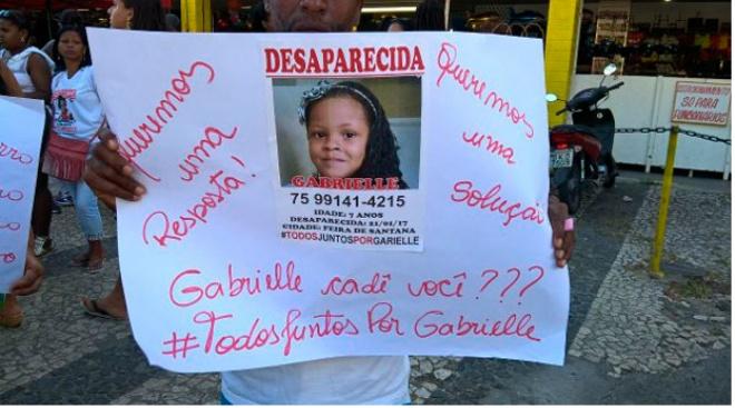 Suspeito de desaparecimento de menina em Feira de Santana é preso