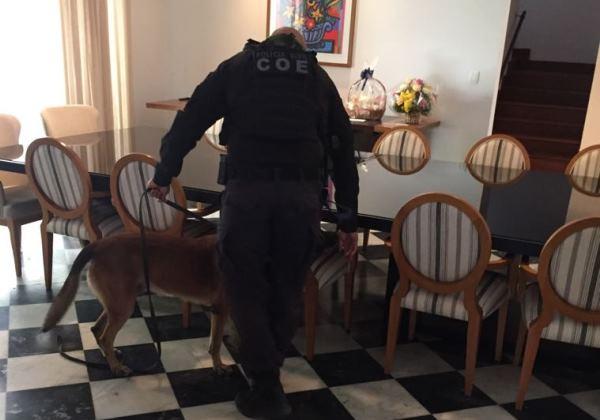 Polícia faz varredura em casa onde Temer passará carnaval