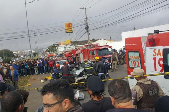 Conquista: Vítimas de acidente com caminhão desgovernado seguem em coma