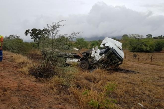 Acidente na BR-116 envolvendo três veículos deixa vitima fatal
