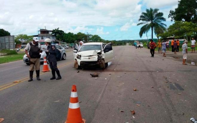Acidente deixa quatro mortos em rodovia no trecho do município de Salinas da Margarida