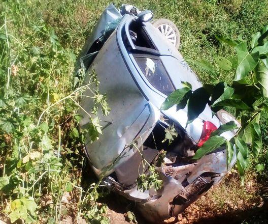 Livramento: Acidente é registrado nesta manhã de sexta feira na Serra das Almas