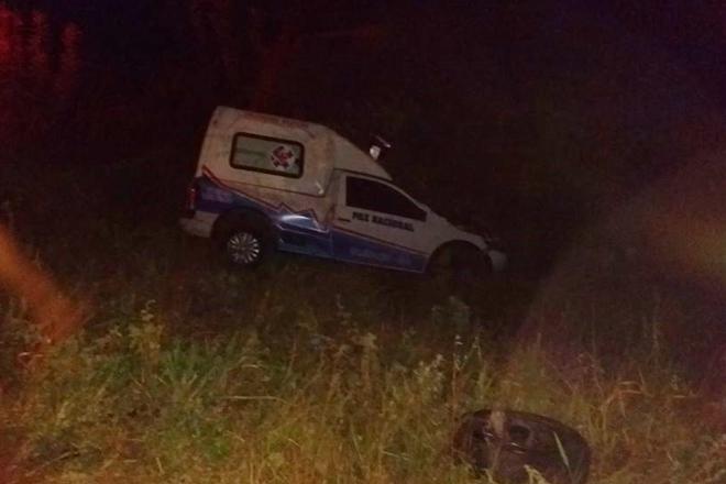 Vitória da Conquista: Acidente com carro de funerária deixa uma pessoa morta
