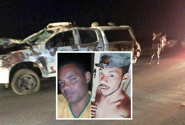 Pai e filho morrem em acidente entre moto e viatura da CIPE na BA-052
