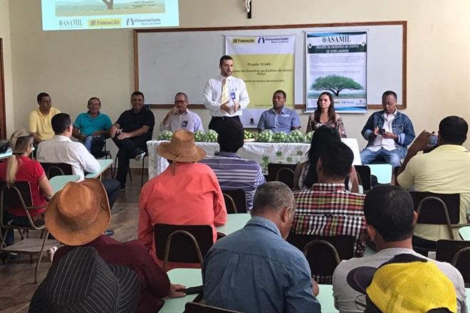 ASAMIL lança projeto de incentivo ao cultivo de Umbu Gigante em Livramento