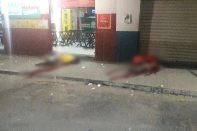 Livramento: Homens são executados a tiros em porta de bar
