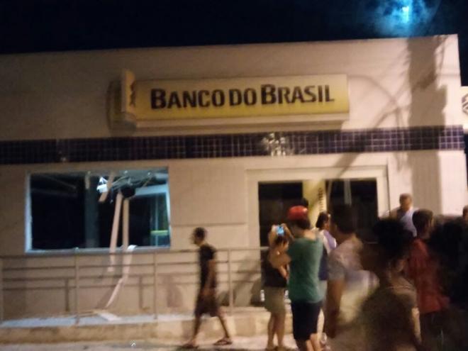 Agência do Banco do Brasil de Jussiape é explodida na madrugada desta segunda (12)