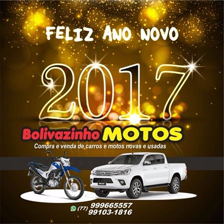 A loja Bolivazinho Motos deseja aos clientes e amigos um Feliz Ano Novo