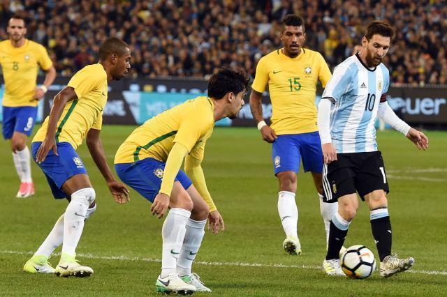 Brasil perde da Argentina por 1 a 0 e acaba com invencibilidade de Tite