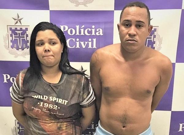 Casal é preso com fuzil usado para assaltos a banco na Bahia