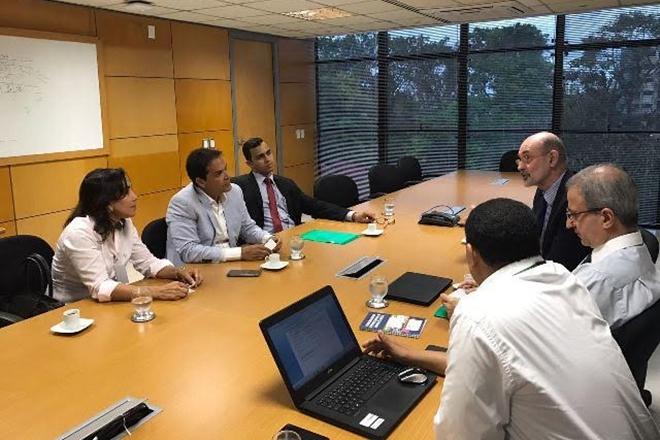 Presidente da UPB se reúne com a Coelba para tratar de modelo de cobrança da contribuição