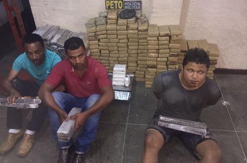 Operação policial apreende 300 kg de maconha na região de Ubatã