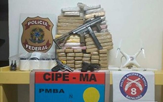 Operação Policial desmonta laboratório de drogas em Porto Seguro
