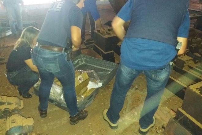 Mais 150 quilos de drogas são incinerados em Conquista
