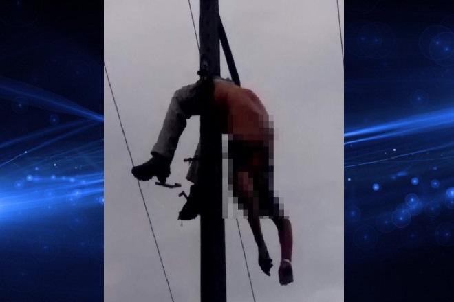 Homem morre eletrocutado na zona rural de Itagi