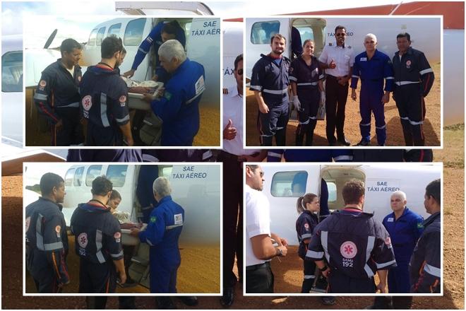 Livramento: Recém-nascido é transferido em UTI aérea para Feira de Santana
