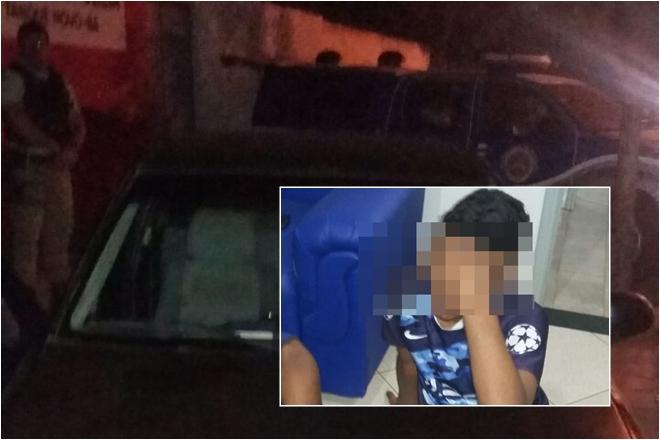 Paramirim: Menor é acusado de arrombar residência do pai e furtar 40 mil reais