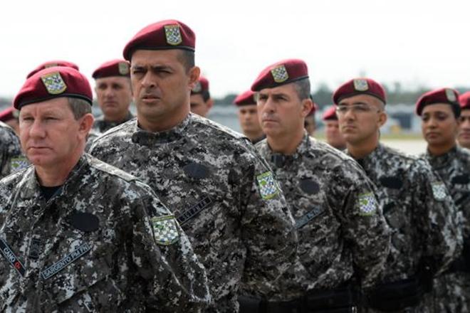 Força Nacional começa a chegar a Manaus e Boa Vista