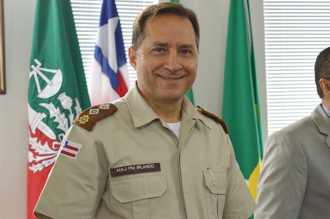 Major Irlando Oliveira é promovido a Tenente-Coronel