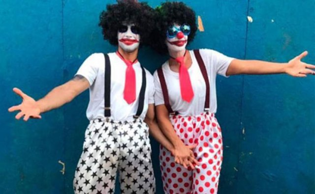 Ivete Sangalo se fantasia e curte o carnaval na 'pipoca'