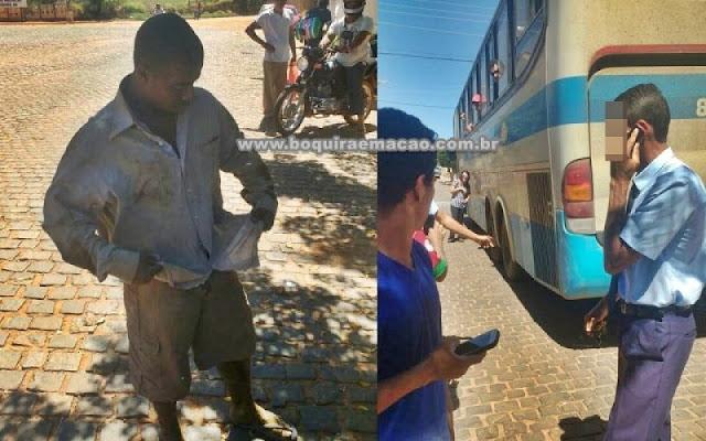 Jovem viaja de Brasília até o interior da Bahia debaixo de ônibus