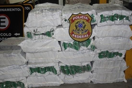 Salvador: Polícia apreende quatro toneladas de maconha escondida em carga de cebola