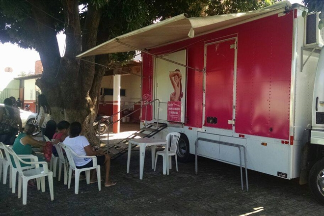 Saúde: Caminhão da mamografia chega a Livramento