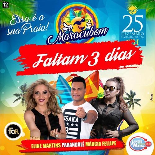 Maracubom Indoor: Contagem regressiva, faltam 3 dias