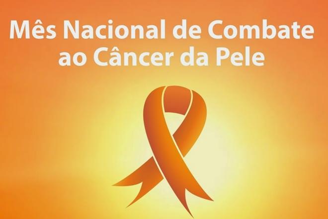 Dezembro tem cor laranja para conscientizar sobre câncer de pele