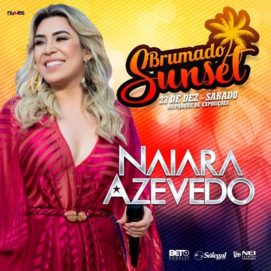 Brumado Sunset: Naiara Azevedo é a primeira atração confirmada para o evento