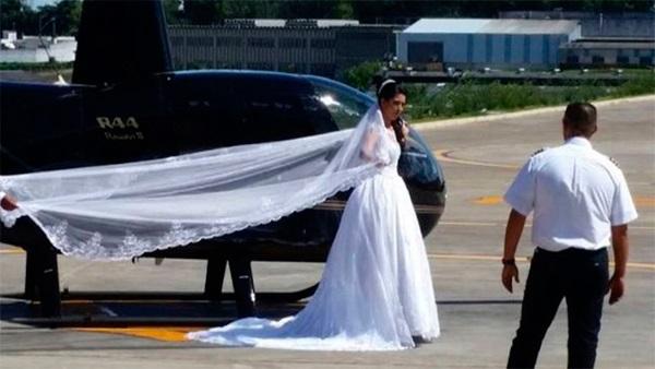 Câmera registrou queda de helicóptero que matou noiva em São Paulo