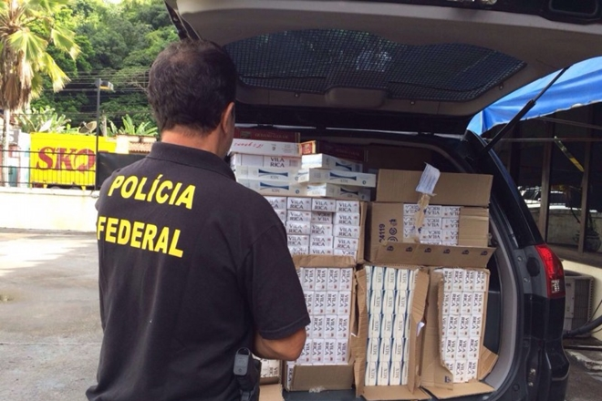 PF deflagra operação contra contrabando de cigarros e lavagem de dinheiro em Ilhéus