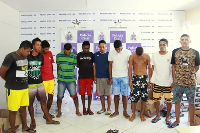 Operação policial em Belmonte prende 10 suspeitos de envolvimento com o tráfico e homicídios