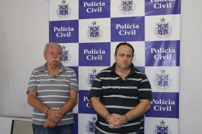 Pai e filho são presos em Salvador ao tentar sacar R$ 28,8 bilhões