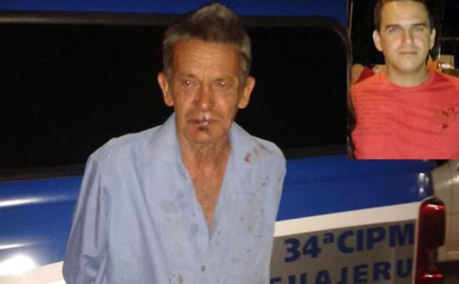 Pai é preso após matar o filho a facadas em Guajeru